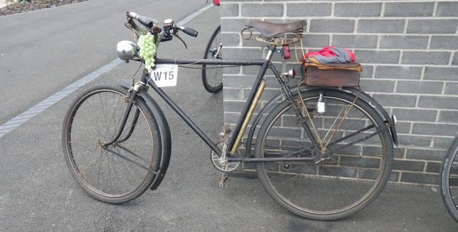 ブルベの自転車