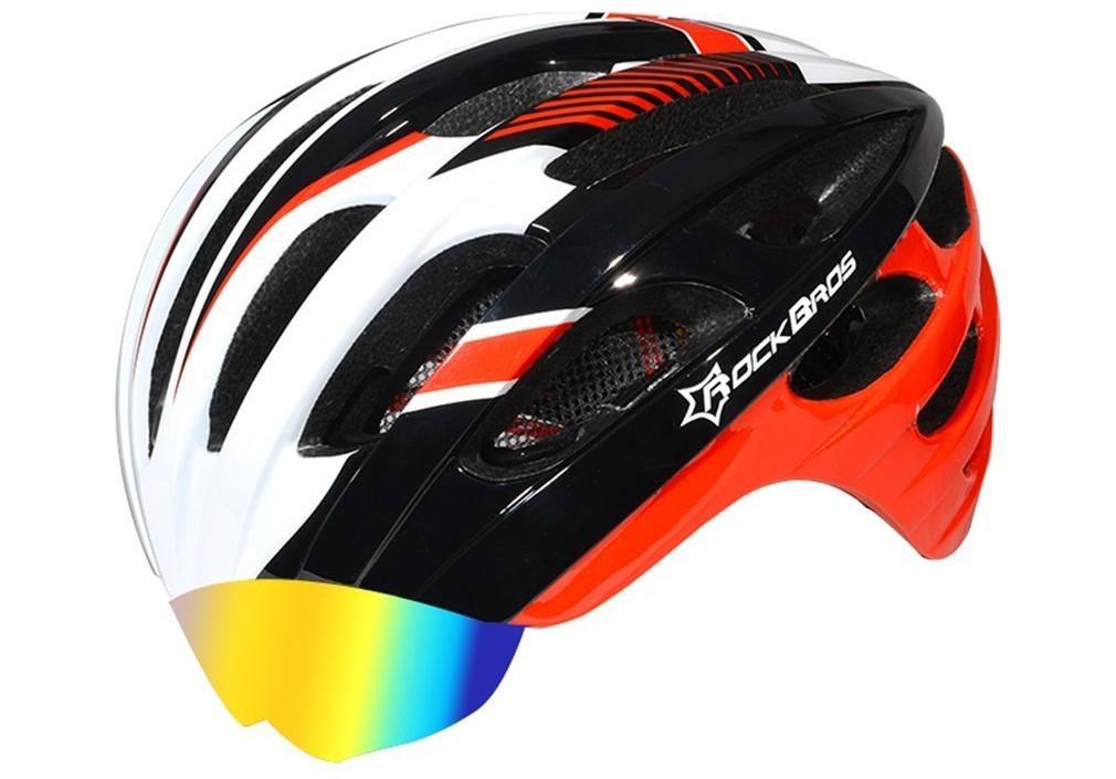 ロードバイクのオススメヘルメットは「収納式レンズ付」がブルベによい!