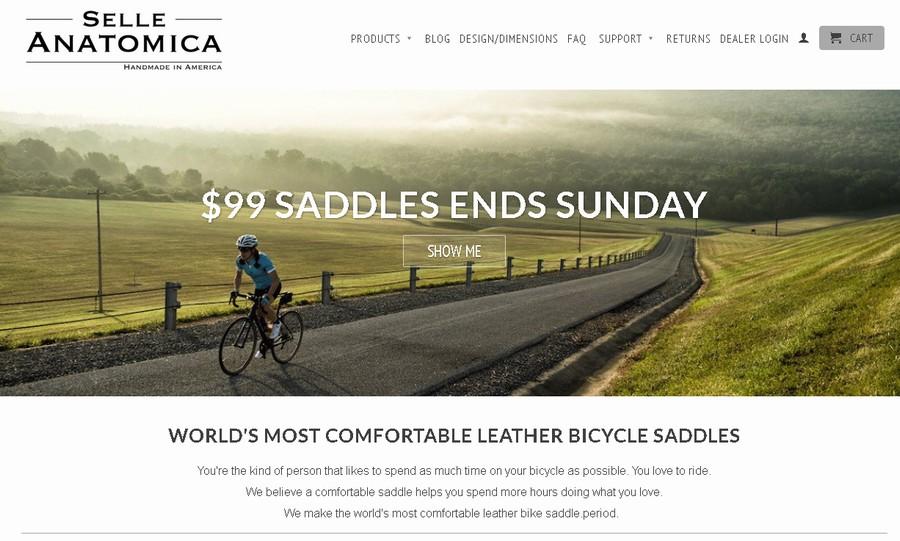 セラアナトミカ SelleAnatomicaは公式サイト購入が最安(1個99ドル)