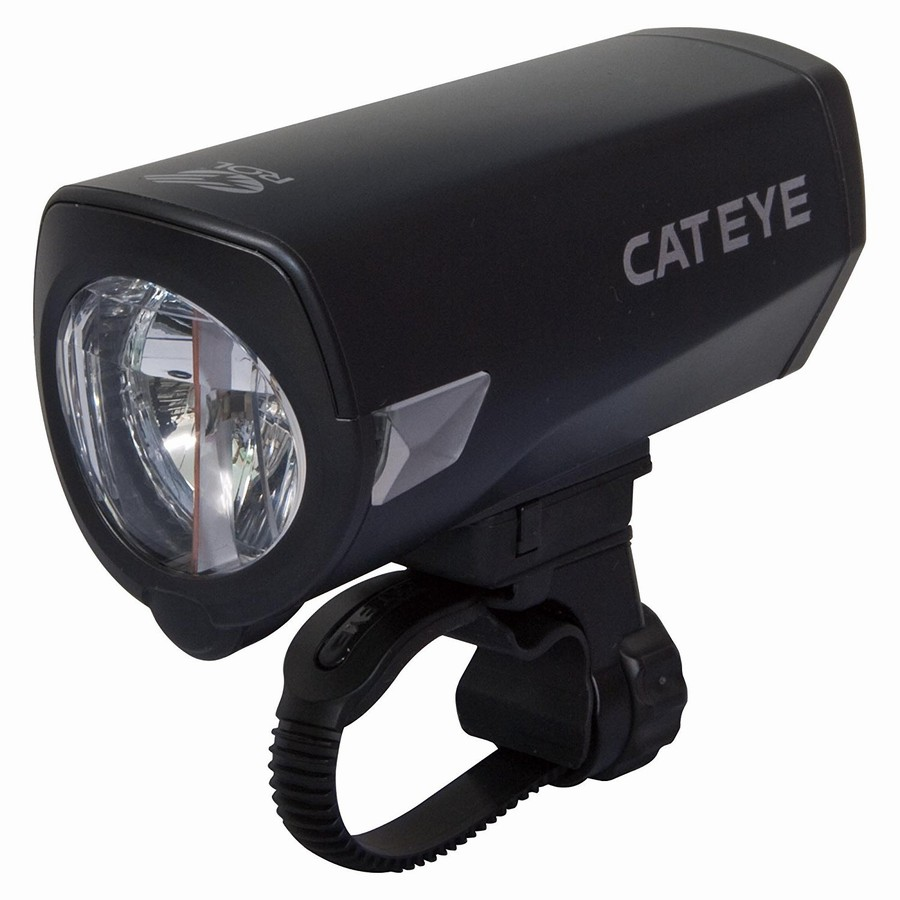 軽量USBヘッドライト VS 定番キャットアイHL-EL540RC