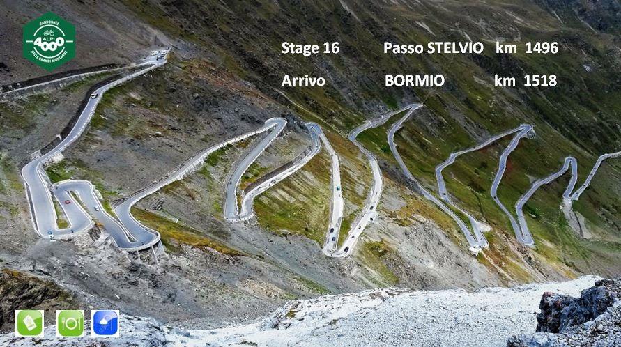 Alpi4000(イタリア1500kmブルベ)のコースとPCチェック