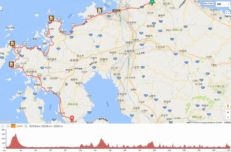2018ヘブンの準備1と300kmブルベの走り方【BRM428飯塚300平戸】