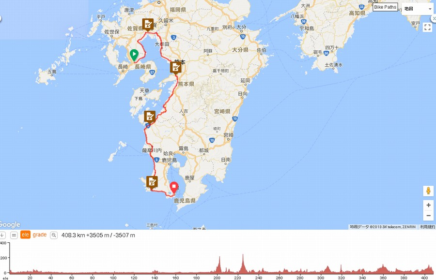 2018ヘブンの準備2と400kmブルベの走り方【BRM430諫早400有明海】