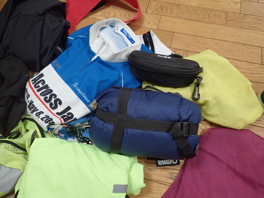 2018ヘブンの準備6:持ち物とドロップバッグ【ヘブンウィーク遠征】