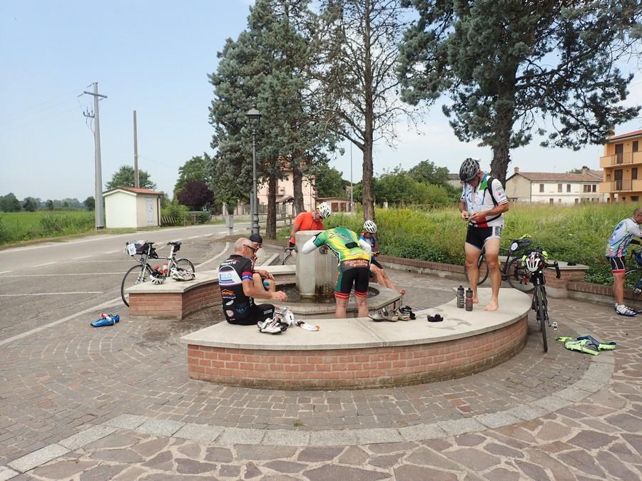 Alpi4000 Day4:Biella→ Pavia→Piadena→Pieve di Coriano 318km