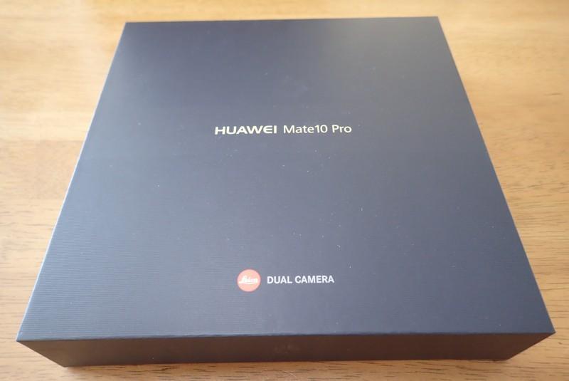 防水スマホ【ファーウェイHuawei Mate 10 Pro】を買った